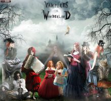 Vampires in Wonderland by C0NFUZZLE
