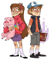 MYSTERY TWINS by AgentDax