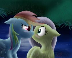 Rainbow Dash takes lead by Miokomata