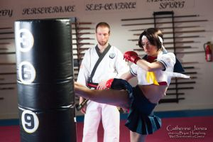 Roundhouse Kick by gstqfashions
