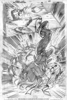 RAVAGER p.3 page 9 pencils by Cinar