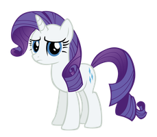 Rarity Horrified by Bl1ghtmare