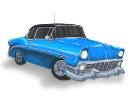 '56 Chevy by onecrazypirate