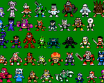 Custom Robot Masters by mike1967-now
