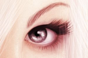 Purity Eye (close) by StephanieVALENTIN