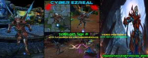 Cyber Ezreal League Of Legends by carlozs