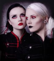 Red v Black by JosephineJonesMUA