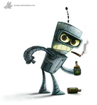 Day 811# Bender by Cryptid-Creations
