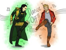 Dance Off 2 by pencilHead7