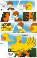 Comission Chocobo TF by DarkDragon-Phoenix