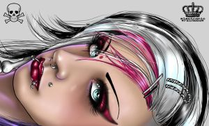 deathrock_quickpaint by ElectronicRainbow