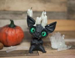 Voodoo Wendigo resin toy by Furrykami-creatures