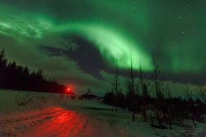 Northern Lights Beacon II - Iceland by acseven