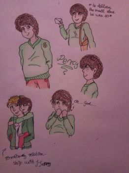 [HUM. WITH HC] - Percy  by CartoonLover20