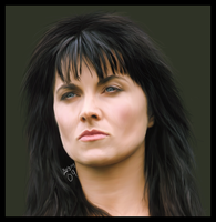 Lucy Lawless by emsen