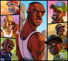 GTA: San Andreas (Expanded) by ubegovic