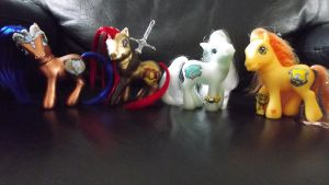 Harry Potter House Ponies - My Little Pony Customs by Cemetery-Nightmare