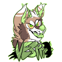 Vesppr - Furry con badge by Sniperisawesome