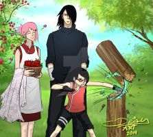 familia Uchiha...  NOTICIA INESPERADA!! by koko-bunburi