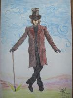 Willy Wonka by WindyMirkwood