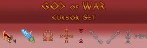 God of War Cursor Set