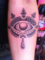 The eye of the Sheikah tattoo by Geronty