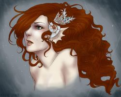 Klyreida - Queen of Mermaids by rheill