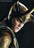 Loki sketch card by Quelchii