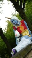 Soraka Cosplay by Staubfeder