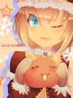 Merry Chirstmas for Monster Poring by R-chura