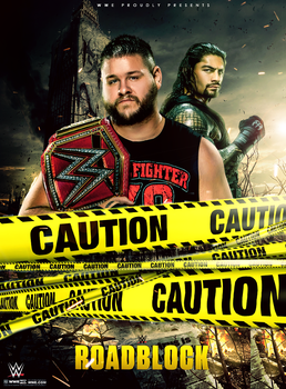 WWE Roadblock End Of The Line Poster 2016 by workoutf