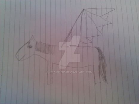 How i use to draw a horse :S by loz-boz01