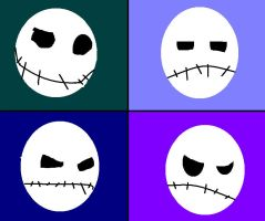 The Pumpkin King's Faces by MrBubbles24