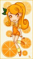 Citrus: Orange by girlunderwater
