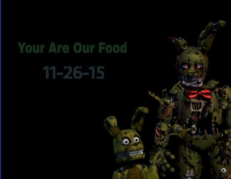 Nightmare Springtrap Teaser (FANMADE) by BonnieThe