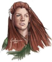 Tauriel by JuliaFox90