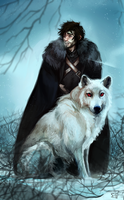 Jon Snow by znodden