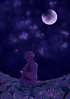 Under a violet moon by Riicu1523