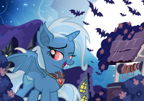 Great and Battyful Trixie by PixelKitties