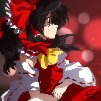 Reimu Hakurei by super-tuler