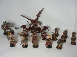 Chaos Space Marines by Scipio164