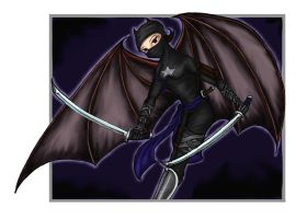 Ivy's Bat Ninja - colored by hoverlight