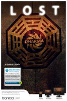 LOST wallpacks - Dharma Temple by mauricioestrella