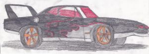 Rick's Plymouth Superbird (Updated) by CarlostheBat36