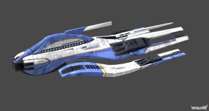 Shuttle Cruiser by nach77