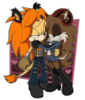 Johnny + Callous .:Commission:. by Pendulonium