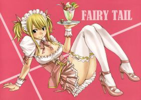 My Wallpaper..Lucy.. by Winry4010