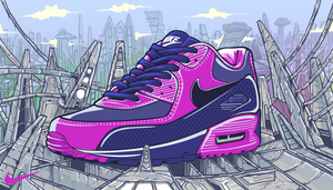 Nike Air Max 90 by kurtmorrisrojas
