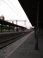 Train station by Comacold-stock