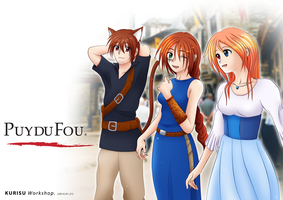 Together to Puy du Fou by KurisuWS